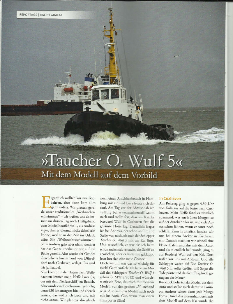 TOW 5 Modellwerft
